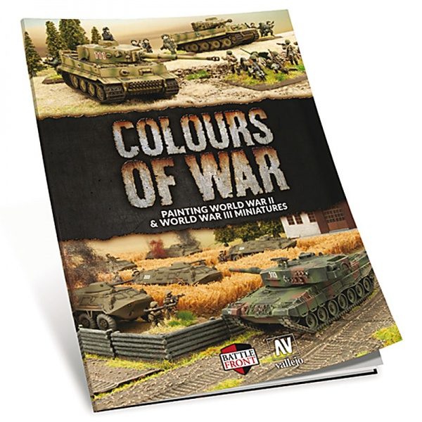 Vallejo Books - Colours of War: Painting WWII & WWIII Miniatures